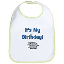 It's My Birthday! Elephant Bib