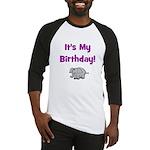 It's My Birthday! Elephant Baseball Jersey