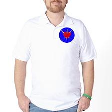 Pierced Heart Golf Shirt