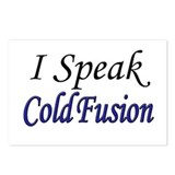 """I Speak Cold Fusion"" Postcards (Package of 8)"