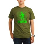 Everyday I'm Shufflin Green Organic Men's T-Shirt