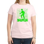 Everyday I'm Shufflin Green Women's Light T-Shirt