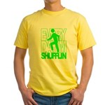 Everyday I'm Shufflin Green Yellow T-Shirt