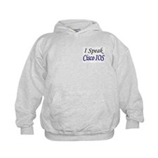 """I Speak Cisco IOS"" Hoodie"
