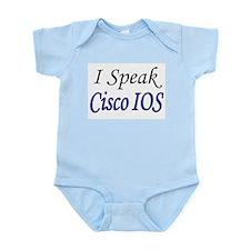"""""""I Speak Cisco IOS"""" Infant Creeper"""