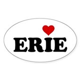 Erie with Heart Decal