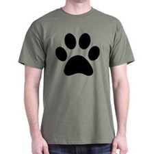 Paw Print Icon T-Shirt