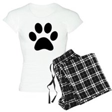 Paw Print Icon Pajamas