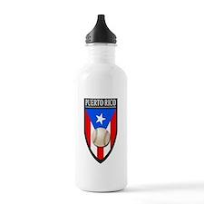 Puerto Rico (Baseball) Water Bottle