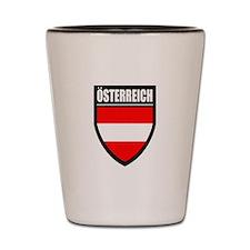 Osterreich Patch Shot Glass