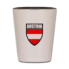 Austria Patch Shot Glass