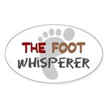 The Whisperer Occupations Sticker (Oval 50 pk)