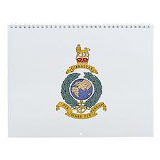 Royal Marines Wall Calendar
