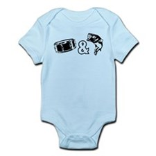 Drum and Bass Infant Bodysuit