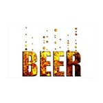 Beer 38.5 x 24.5 Wall Peel