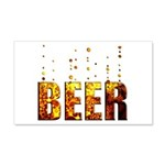 Beer 22x14 Wall Peel