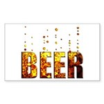 Beer Sticker (Rectangle)