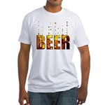 Beer Fitted T-Shirt