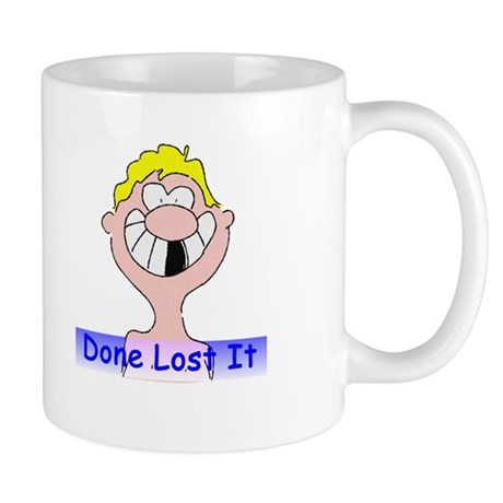 Done Lost It Mug