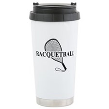 Racquetball Ceramic Travel Mug
