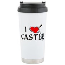Castle style 2 Ceramic Travel Mug