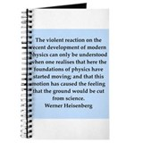werner heisenberg quotes Journal