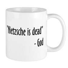 Nietzsche and God are Dead Coffee Mug