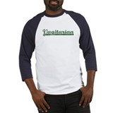 Green Vagitarian Baseball Jersey
