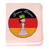 German Princess baby blanket