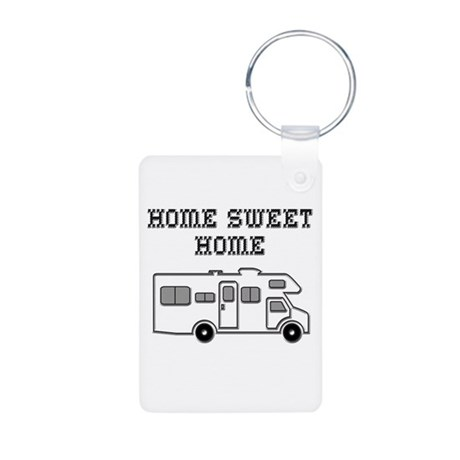 Home Sweet Home Mini Motorhome Aluminum Photo Keyc