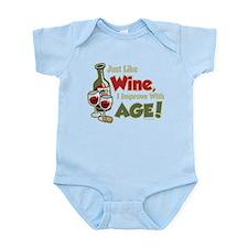 Wine Improve With Age Infant Bodysuit