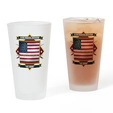 1st Irish, 35th Indiana Infan Pint Glass