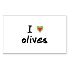 I Love Olives Bumper Stickers