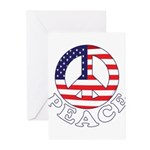 Patriotic Peace Greeting Cards (Pk of 20)