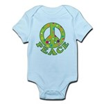 Polka Dots Peace Infant Bodysuit
