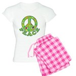 Polka Dots Peace Women's Light Pajamas