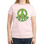 Polka Dots Peace Women's Light T-Shirt