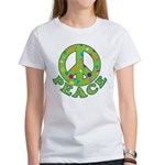 Polka Dots Peace Women's T-Shirt
