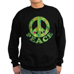 Polka Dots Peace Sweatshirt (dark)