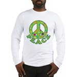 Polka Dots Peace Long Sleeve T-Shirt
