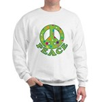 Polka Dots Peace Sweatshirt