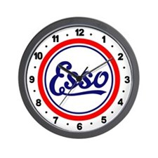 Esso Gasoline Wall Clock