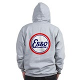 Esso Gasoline  Zip Hoodie