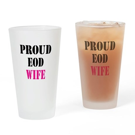 Proud EOD Home/Office Pint Glass
