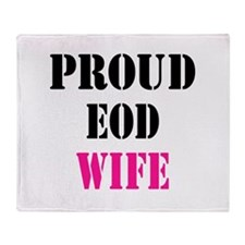 Proud EOD Home/Office Throw Blanket