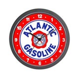 Atlantic Gasoline Wall Clock