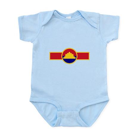 State of Cambodia Roundel Infant Bodysuit