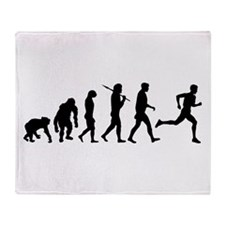 Evolution of Running Throw Blanket