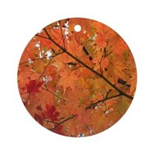 Autumn tint Ornament (Round)