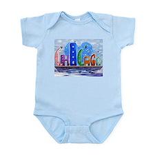 I Heart Chicago Infant Bodysuit